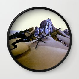 The Sacred Place Wall Clock