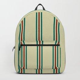 Retro Straight Stripe Backpack
