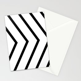 Black arrows on white background. Stationery Cards