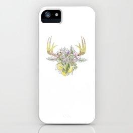 Horns Bohemian Deer #2 iPhone Case