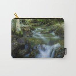 Hidden forest waterfall Carry-All Pouch