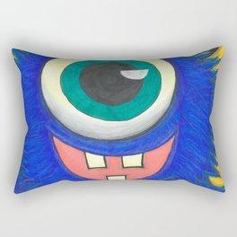 Monster and his cupcake Rectangular Pillow