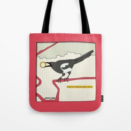 Eurasian Magpie Tote Bag