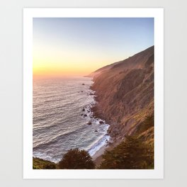 Ragged Point, California Art Print