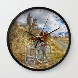 They Left Grandpa To The Elements Wall Clock