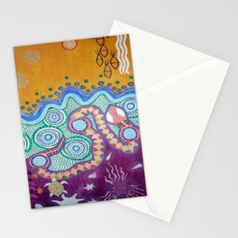 Rainbow Serpent Stationery Cards