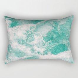 Whitewater 1 Rectangular Pillow