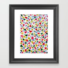 Triangle Relationship (II) Framed Art Print