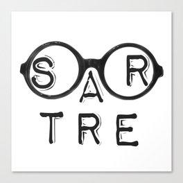 Sartroculars Canvas Print