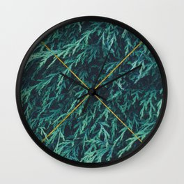 Restricted Reality #society6 Wall Clock