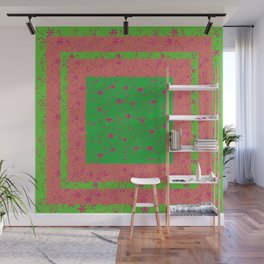 Abstract Artwork Colors of Spring Wall Mural