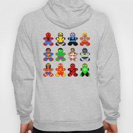 Superhero Gingerbread Man Hoody