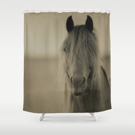 HORSE 2 - Old Friends Collection Shower Curtain