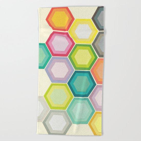 Honeycomb Layers Beach Towel