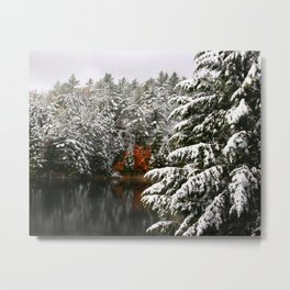 A Touch of Maple Metal Print