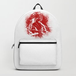 Himura Kenshin - Red Abstraction Backpack