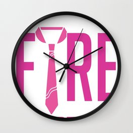 Chula Vista Fire Department Wall Clock