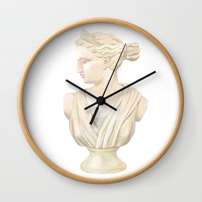 Goddess Diana Wall Clock