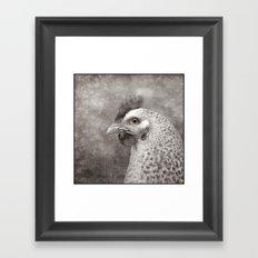 My neighbour's Hen Framed Art Print