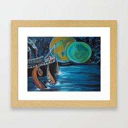 Distress Call Framed Art Print