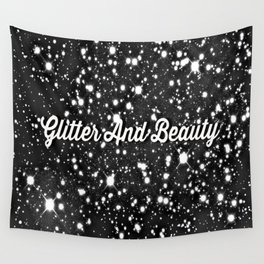 Glitter And Beauty Wall Tapestry
