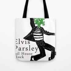 Elvis Parsley Tote Bag