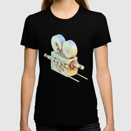 Low Poly Film Camera T-shirt