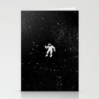 gravity Stationery Cards featuring Gravity by Tobe Fonseca