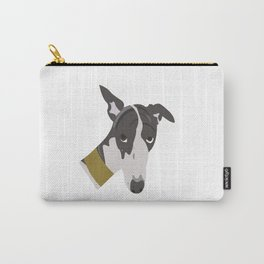 Whippet Portrait Carry-All Pouch