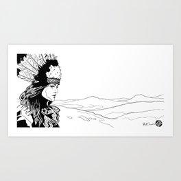 Reddit Gets Drawn #3 Art Print