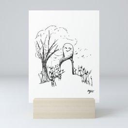 A Windy Day Mini Art Print