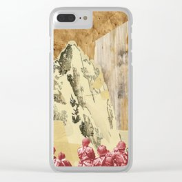 State of War Clear iPhone Case