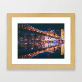 An Evening Like This - New York City Framed Art Print