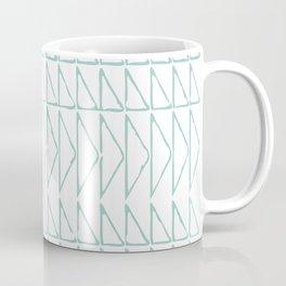 Geometric Line Drawing Coffee Mug