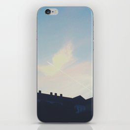 Contrail Angel iPhone Skin
