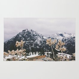 Mountains + Flowers Rug