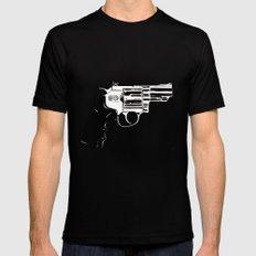 Gun #27 Black Mens Fitted Tee MEDIUM