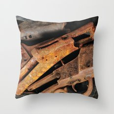 Action Throw Pillow
