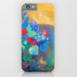 Odilon Redon - Ophelia in the flower - Digital Remastered Edition iPhone Case