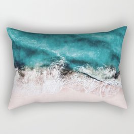 Pink Sand Rectangular Pillow