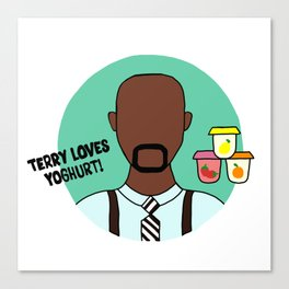Terry Jeffords Canvas Print