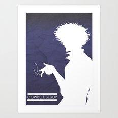 Cowboy Bebop ver 2 Art Print