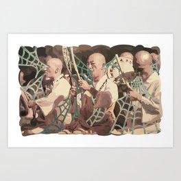 VINTAGE CHANTS Art Print