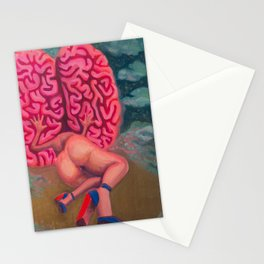 Trapped in a Magical Mind Stationery Cards