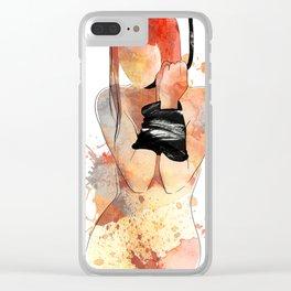 Shibari - Japanese BDSM Art Painting #5 Clear iPhone Case