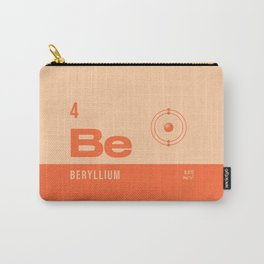 Periodic Element A - 4 Beryllium Be Carry-All Pouch