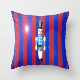 Festive Solider Throw Pillow