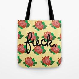 Floral as F*** Tote Bag