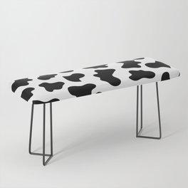 Moo Cow Print Bench