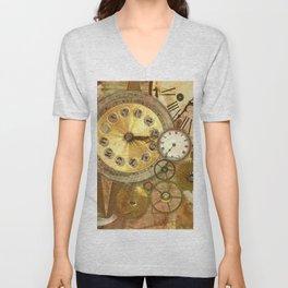 The Clocks Unisex V-Neck
